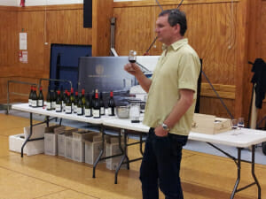 Jason (Jase) Pearce presenting RM Wines